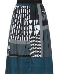Sara Roka Midi Skirt - Black