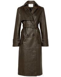 REMAIN Birger Christensen Overcoat - Brown