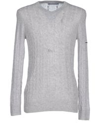 Silk And Cashmere Sweater - Gray