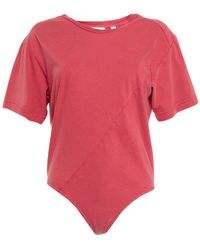 Cheap Monday T-shirt - Red