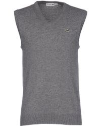 Lacoste Sweater - Gray