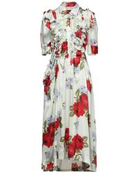 Simone Rocha Midi Dress - White