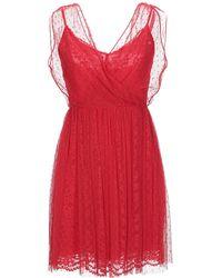 Ermanno Scervino Short Dress - Red