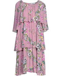 Blugirl Blumarine Midi Dress - Pink