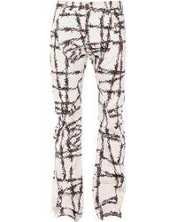 Formy Studio Pantalon en jean - Blanc