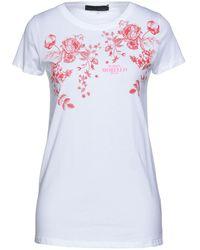Frankie Morello T-shirts - Weiß