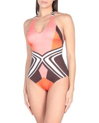 Chantelle One-piece Swimsuit - Pink