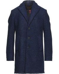 Officina 36 Manteau long - Bleu