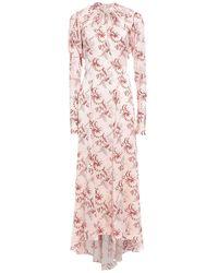 Paco Rabanne Long Dress - Pink