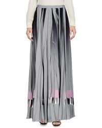 Golden Goose Deluxe Brand Long Skirts - Grey
