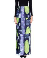 Francesco Paolo Salerno Long Skirt - Blue