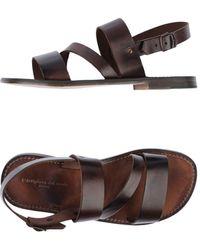 L'artigiano Del Cuoio Sandals - Brown
