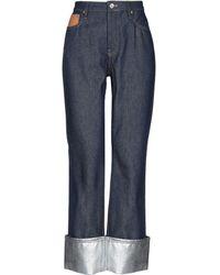 Paco Rabanne Denim Trousers - Blue