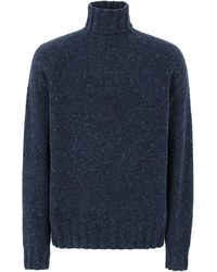 PS by Paul Smith Turtleneck - Blue