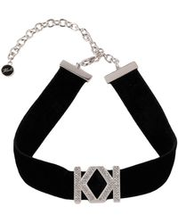 Karl Lagerfeld Necklace - Black