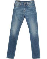 Emporio Armani Pantalon en jean - Bleu