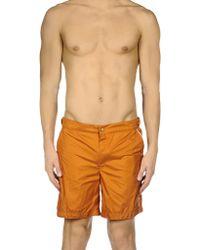 Robinson Les Bains Boxer da mare - Arancione