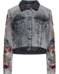 Philipp Plein Capospalla jeans - Nero