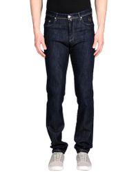 Tru Trussardi Pantalon en jean - Bleu