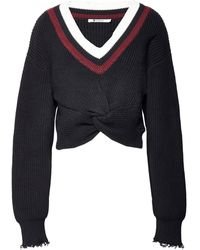 T By Alexander Wang Sweater - Black