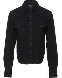 Acne Studios Denim Shirt - Black
