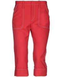 Chloé 3/4-length Trousers - Red