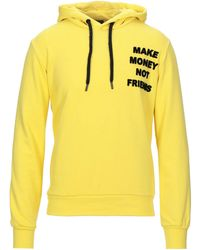 MAKE MONEY NOT FRIENDS Sweatshirt - Gelb