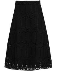 Ba&sh Midi Skirt - Black