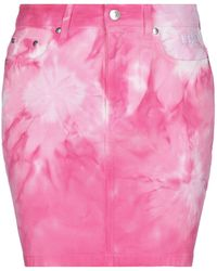 MSGM Denim Skirt - Pink