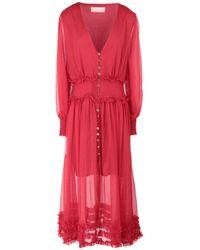 Keepsake Long Dress - Red
