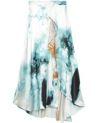 ROKSANDA Long Skirt - Blue