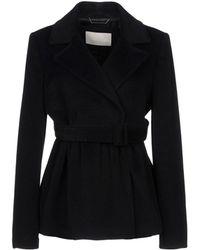 Ermanno Scervino Coat - Black