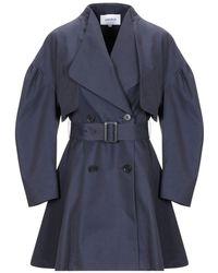 Enfold Overcoat - Blue