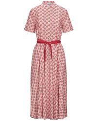 Niu 3/4 Length Dress - Pink