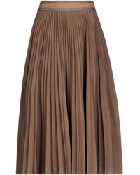 Brunello Cucinelli 3/4 Length Skirt - Brown