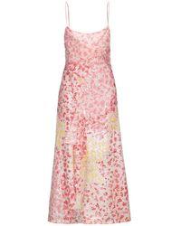 Ainea Midi Dress - Pink