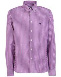 Henry Cotton's Camisa - Morado