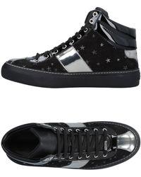 Jimmy Choo Sneakers abotinadas - Negro