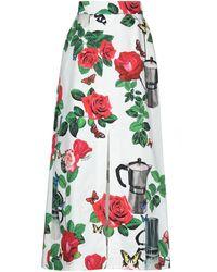 Dolce & Gabbana Long Skirt - White