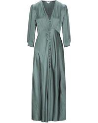 Ghost 3/4 Length Dress - Green