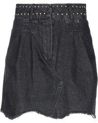 Souvenir Clubbing Denim Skirt - Multicolour