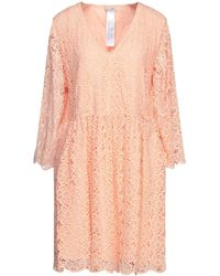 SCEE by TWINSET Short Dress - Pink