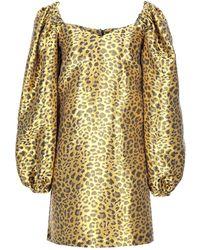 Ultrachic Short Dress - Yellow