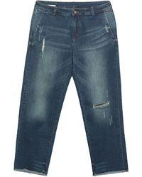 Sun 68 Denim Trousers - Blue