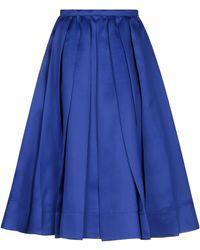 Rochas 3/4 Length Skirt - Blue