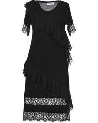 Anna Rachele Short Dress - Black