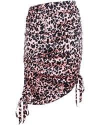 Laneus Midi Skirt - Pink