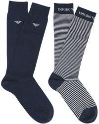 Emporio Armani Calcetines cortos - Azul
