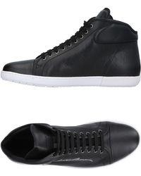 Giorgio Armani High-tops & Sneakers - Black