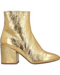 Dries Van Noten Ankle Boots - Metallic